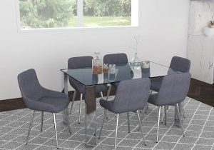 Frankfurt-Cassidy 5 pc Dining Set Package 2