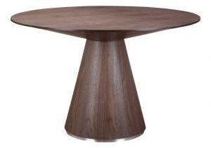 Otago Walnut Round Dining Table